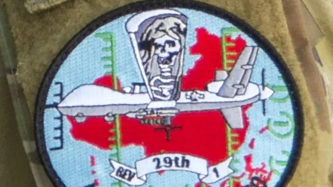 Miếng dán có hình bản đồ Trung Quốc trên đồng phục các binh sĩ Mỹ tham gia tập trận (Ảnh: Air Force Magazine)