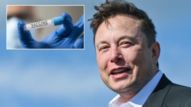 Tỷ phú Elon Musk tuyên bố ông và gia đình sẽ không tiêm vaccine ngừa COVID-19 (Ảnh: RT)