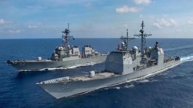 Mỹ có hiệp ước phòng thủ với Philippines trong đó quy định hỗ trợ lẫn nhau khi một bên bị tấn công (Ảnh: Handout)