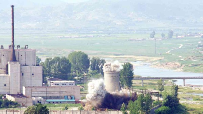 Khu phức hợp hạt nhân Yongbyon của Triều Tiên (Ảnh: KoreaHerald)