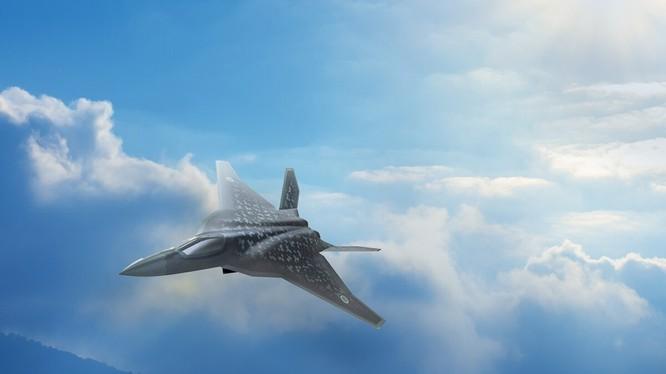 Ảnh đồ họa mẫu máy bay chiến đấu mà Nhật Bản muốn sản xuất trong nước (Ảnh: Getty)