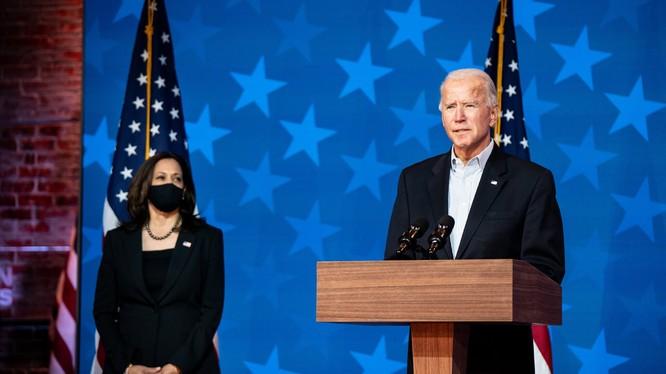Ông Joe Biden giành chiến thắng trong bầu cử, hứa hẹn sẽ mang tới sự đoàn kết và phục hồi cho nước Mỹ (Ảnh: NYTimes)