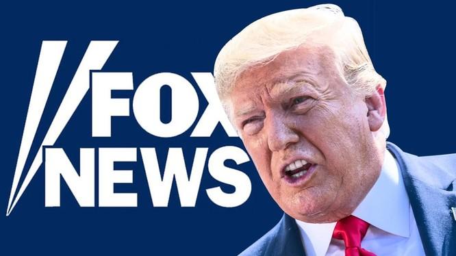 Quan hệ giữa Trump và Fox News đang lộ rõ những rạn nứt (Ảnh: Daily Beast)