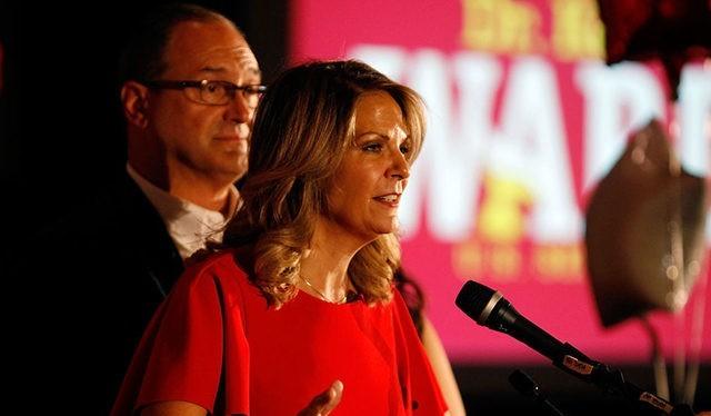 Kelli Ward, Chủ tịch đảng Cộng hòa ở bang Arizona (Ảnh: Getty)