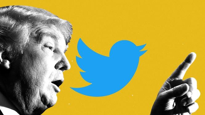 Tổng thống Trump có 89 triệu người theo dõi trên Twitter (Ảnh: The Atlantic)
