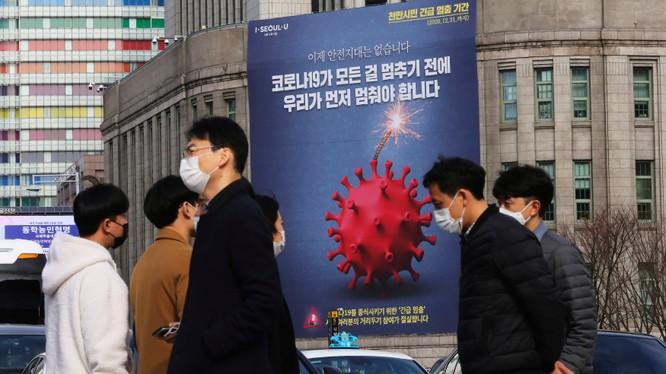 Hàn Quốc đã áp dụng lại các lệnh hạn chế và giãn cách xã hội vốn đã được nới lỏng cách đây 1 tháng (Ảnh: SCMP)