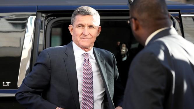 Ông Michael Flynn từng được Tổng thống Trump ân xá sau khi bị kết án vì khai man với FBI cùng nhiều tội danh khác (Ảnh: CNBC)