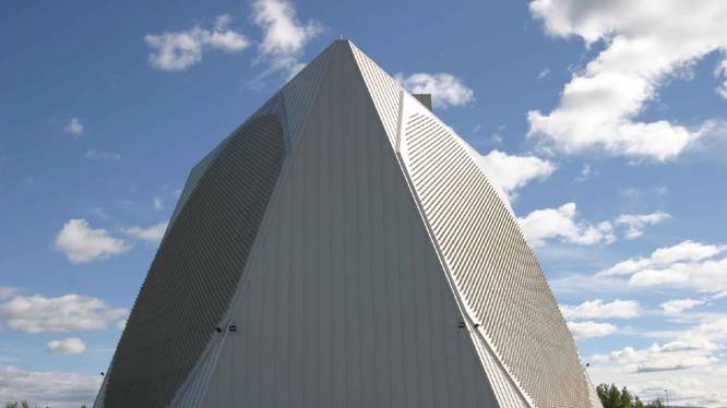 Hệ thống radar giúp Đài Loan và Mỹ phát hiện tên lửa, máy bay từ khoảng cách 5.000 km (Ảnh: Handout)