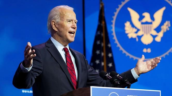 """Sau cuộc bỏ phiếu của đại cử tri đoàn, Tổng thống đắc cử Joe Biden tuyên bố """"đã đến lúc lật sang trang mới, đoàn kết và hàn gắn"""" (Ảnh: CNBC)"""