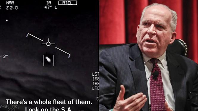 Cựu Giám đốc CIA tin rằng có tồn tại sự sống ngoài hành tinh của chúng ta (Ảnh: DailyMail)