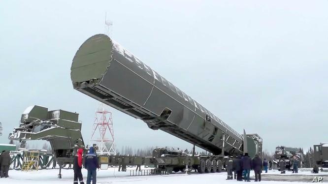 Hệ thống RS-28 Sarmat của Nga (Ảnh: National Interest)