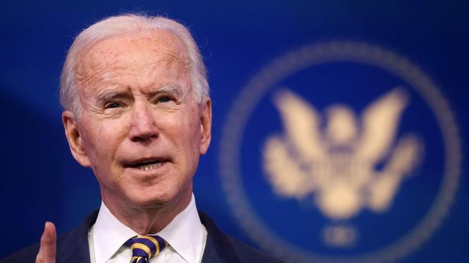 Ông Joe Biden tiếp tục có pha vạ miệng khi phát biểu về khủng hoảng COVID-19 hôm 29/12 (Ảnh: NYPost)