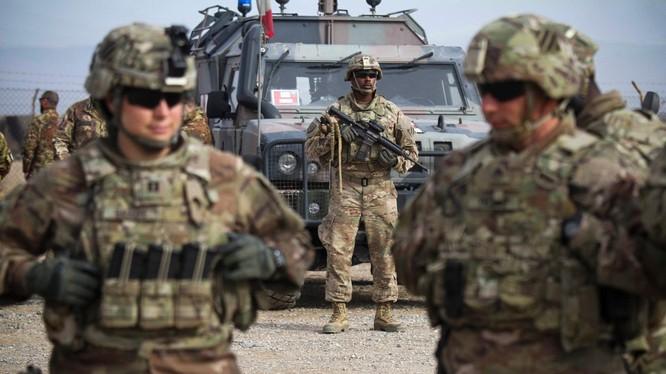 binh sĩ Mỹ tại Afghanistan (Ảnh: NYTimes)