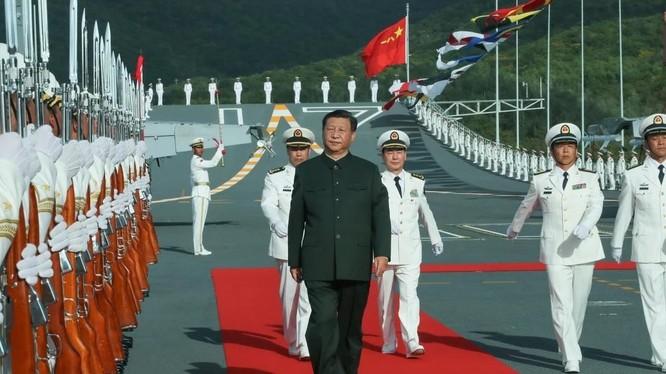 Chủ tịch Trung Quốc Tập Cận Bình là người đứng đầu Quân ủy Trung ương (Ảnh: SCMP)