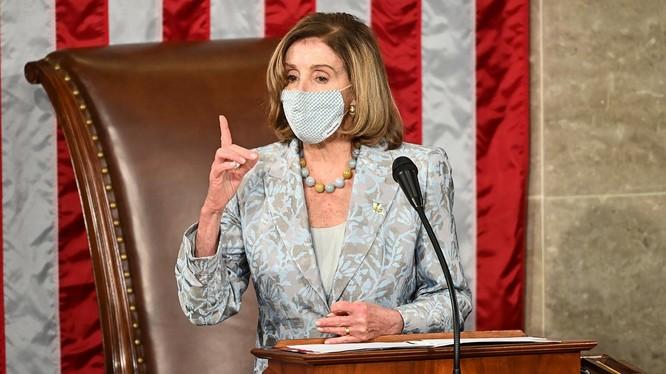 Nancy Pelosi, người phụ nữ quyền lực nhất trên chính trường Mỹ (Ảnh: The People)