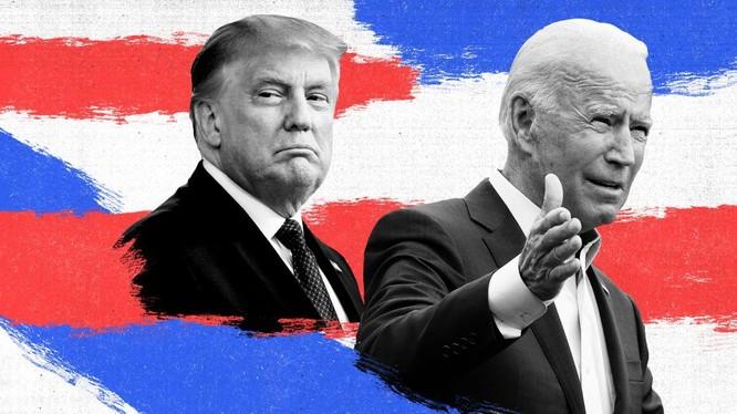 Joe Biden được tuyên bố chiến thắng, Tổng thống Trump đưa ra tuyên bố đầu tiên (Ảnh: CNN)