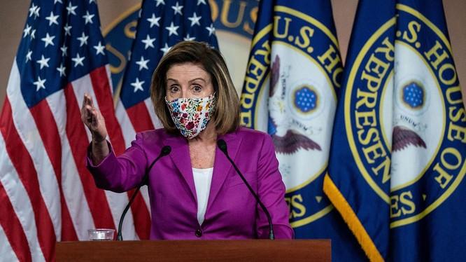 Chủ tịch Hạ viện Nancy Pelosi (Ảnh: NYTimes)