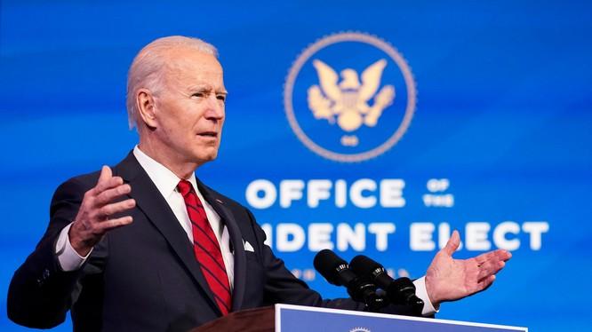 Một danh sách những công việc ưu tiên hàng đầu đã được lập trong ngày đầu tiên ông Joe Biden làm Tổng thống (Ảnh: NBC)