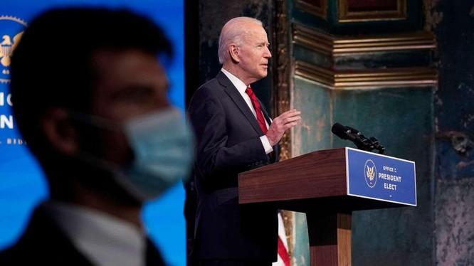 Lễ tuyên thệ nhậm chức của ông Joe Biden diễn ra trong bối cảnh đại dịch COVID-19 và quan ngại an ninh (Ảnh: ABC News)