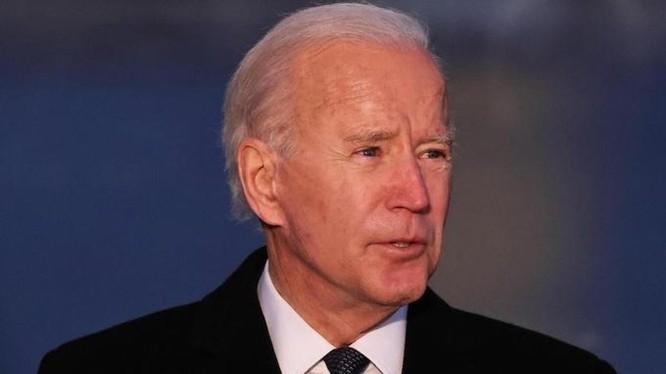 Tổng thống đắc cử Joe Biden tại sự kiện tưởng niệm nạn nhân Covid-19 ở thủ đô Washington ngày 19/1 (Ảnh: AFP)