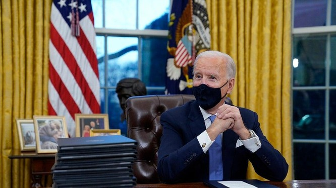 Chính quyền Tổng thống Biden có kế hoạch đề xuất gia hạn hiệp ước vũ khí hạt nhân với Nga (Ảnh: AP)