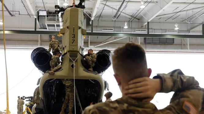 Các binh sĩ Mỹ tại Fort Bliss (Ảnh: RT)