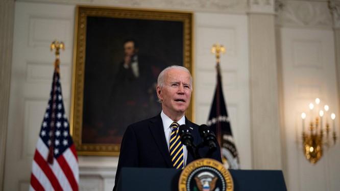 Vụ không kích mà ông Biden ký duyệt là nhằm trả đũa vụ tấn công bằng rocket ở Iraq (Ảnh: NYTimes)