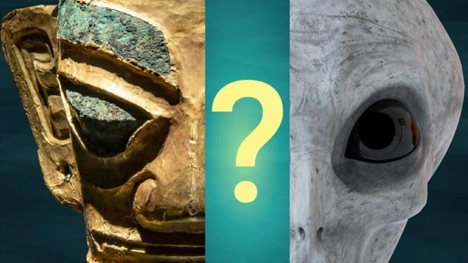 Những báu vật mới được khai quật làm rộ giả thuyết về nền văn minh ngoài hành tinh ở Trung Quốc (Ảnh: SCMP)