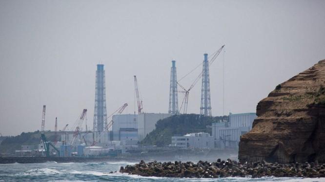Nhà máy điện hạt nhân Fukushima Daiichi (Ảnh: AFP)