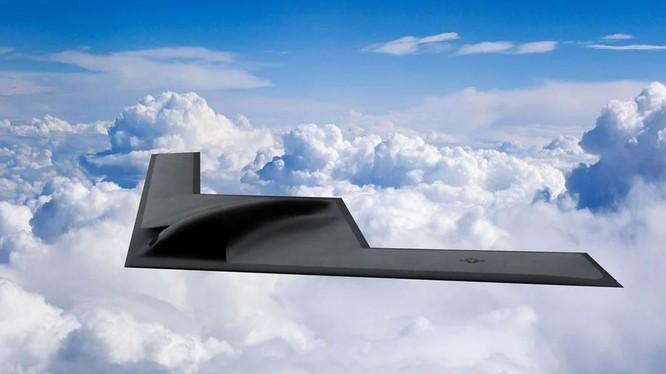 Mẫu drone B-21 Raider được phát triển cho Không quân Mỹ (Ảnh: Northrop Grumman)