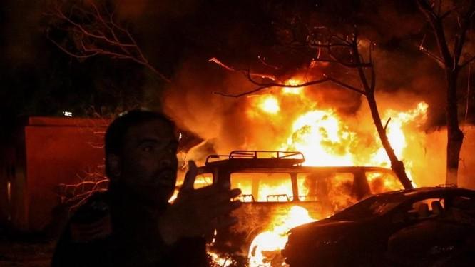 Hiện trường vụ đánh bom xảy ra tại Quetta, Balochistan, Pakistan (Ảnh: Reuters)