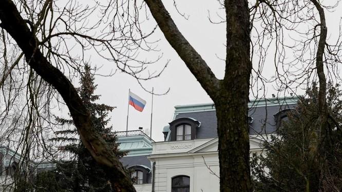 Đại sứ quán Nga tại Prague, CH Séc (Ảnh: RT)