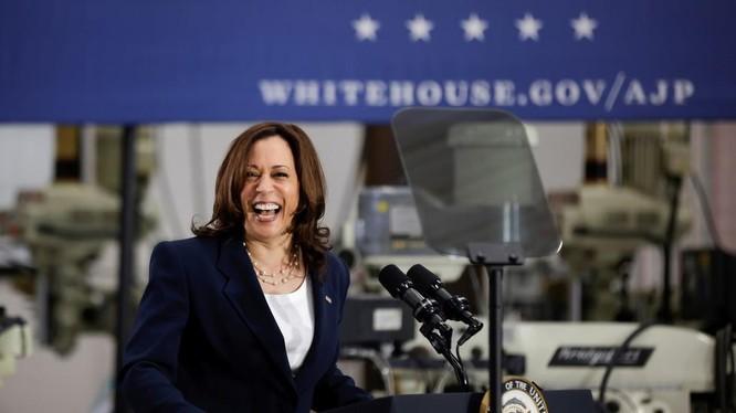 Phó Tổng thống Mỹ Kamala Harris (Ảnh: Reuters)