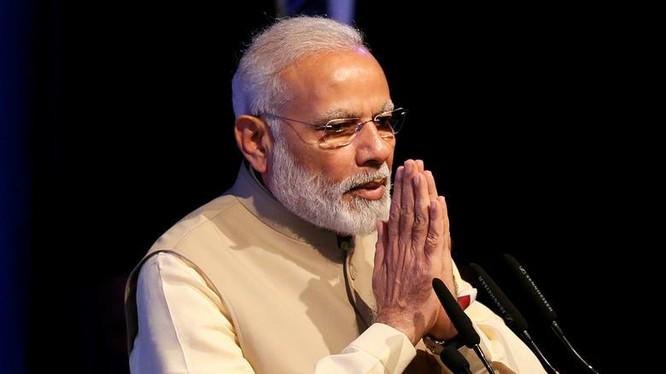 Thủ tướng Ấn Độ Narendra Modi trong một sự kiện ở Sri Lanka hồi tháng 5/2017. Ảnh: Reuters.