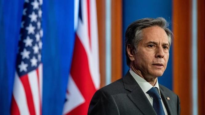 Ngoại trưởng Mỹ Antony Blinken (Ảnh: AFP)