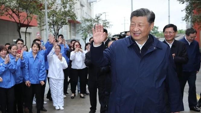 Chủ tịch Trung Quốc Tập Cận Bình (Ảnh: Xinhua)