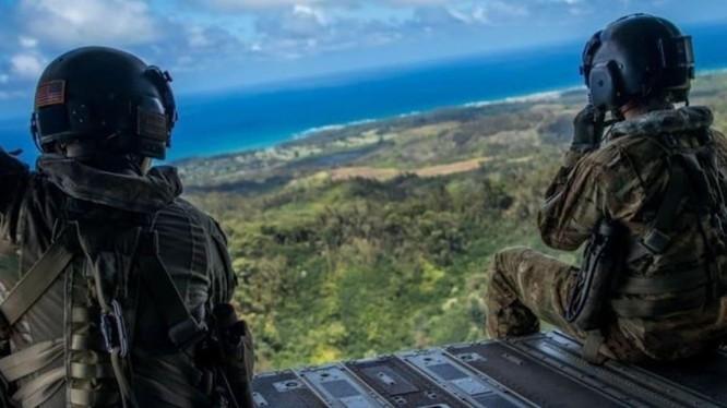 Binh sĩ Mỹ trong một cuộc tập trận năm 2019 ở Palau (Ảnh: Asia Times)