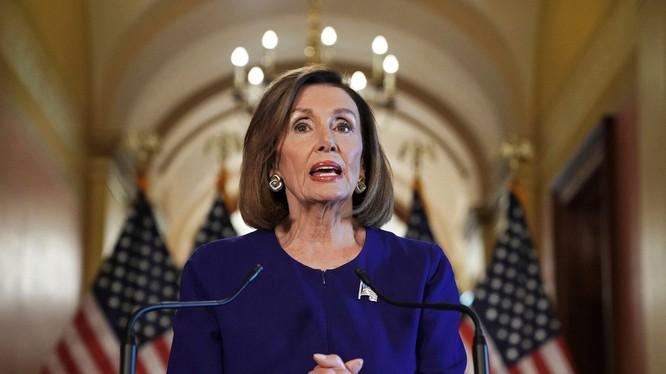 Chủ tịch Hạ viện Mỹ Nancy Pelosi (Ảnh: Newyorker)