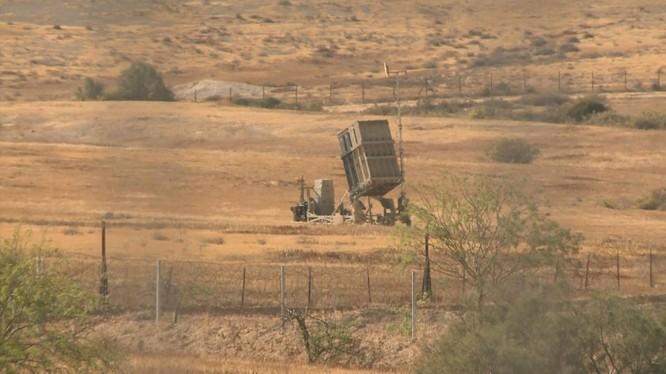 Hệ thống Vòm Sắt được cho là đánh chặn được 90% rocket phóng từ Gaza (Ảnh: Sky News)