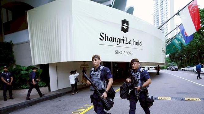 Đối thoại Shangri-La 2021 bị hủy do dịch COVID-19 diễn biến phức tạp (Ảnh: Getty)