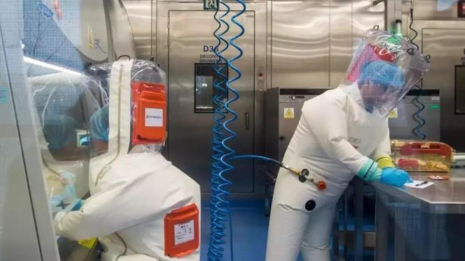 Bên trong phòng thí nghiệm Vũ Hán (Ảnh: Economic Times)