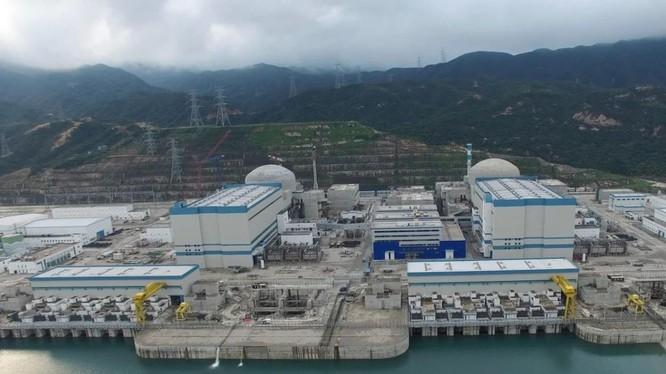 Nhà máy điện nguyên tử Đài Sơn, tỉnh Quảng Đông, Trung Quốc (Ảnh: SCMP)
