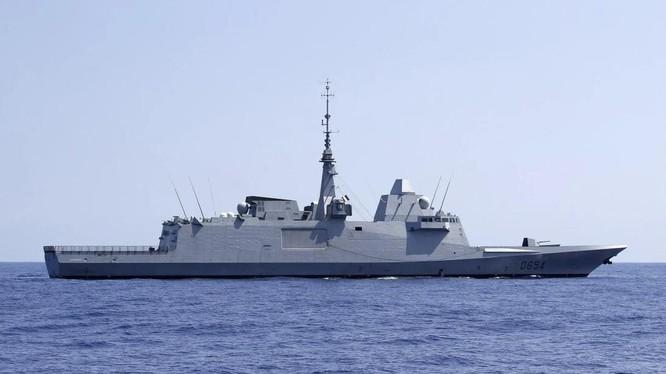 Indonesia đặt mua 8 khu trục hạm từ một công ty đóng tàu của Italy (Ảnh: AFP)