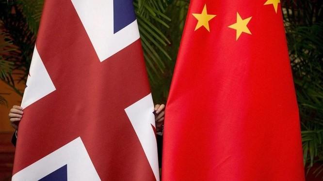 Anh và Trung Quốc đang căng thẳng trong hàng loạt vấn đề, trong đó có nhân quyền (Ảnh: Reuters)