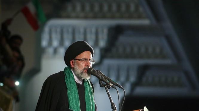 Tổng thống đắc cử Iran Ebrahim Raisi (Ảnh: INSS)