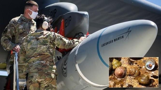 Tên lửa không-đối-đất siêu thanh AGM-183A của Mỹ (Ảnh: Reuters)