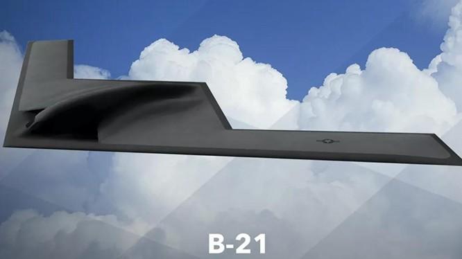 Bức ảnh đầu tiên về B-21 Raider được Không quân Mỹ đăng tải hồi tháng 2/2021 (Ảnh: USAF)