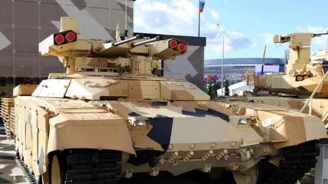 """Mẫu xe hỗ trợ chiến đấu """"Kẻ hủy diệt-2"""" của quân đội Nga (Ảnh: National Interest)"""