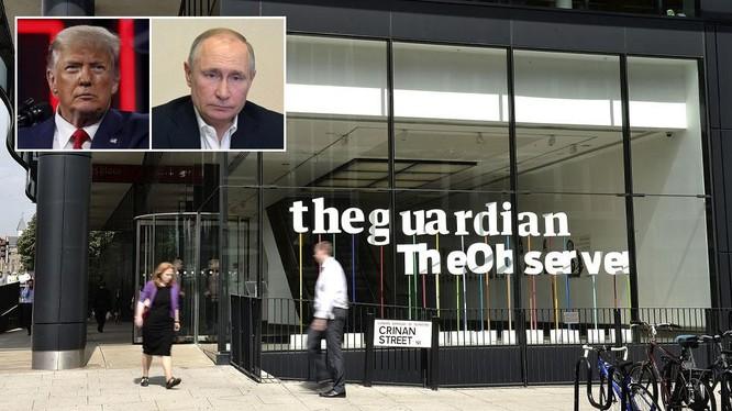 The Guardian của Anh đưa ra cáo buộc vô căn cứ về ông Putin, khiến Điện Kremlin phản ứng phẫn nộ (Ảnh: Sputnik)