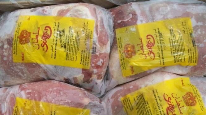 5 container thịt trâu nhiễm SARS-CoV-2 nhập từ Ấn Độ sẽ được chính quyền Campuchia đem đi tiêu hủy (Ảnh: The Star)